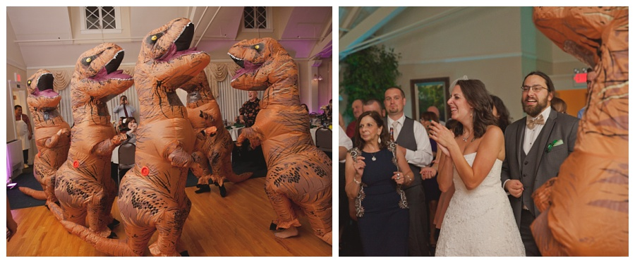 fun candid wedding moments surprise