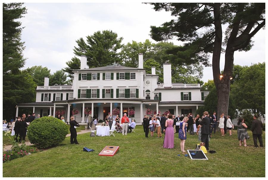 estate wedding massachusetts
