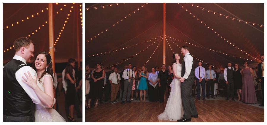 last dance wedding photos