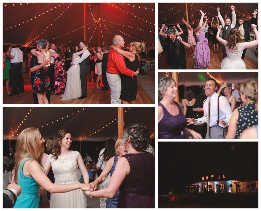 tent wedding reception glen magna farms