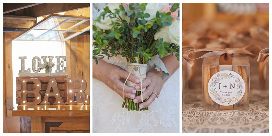 rustic wedding details and ideas