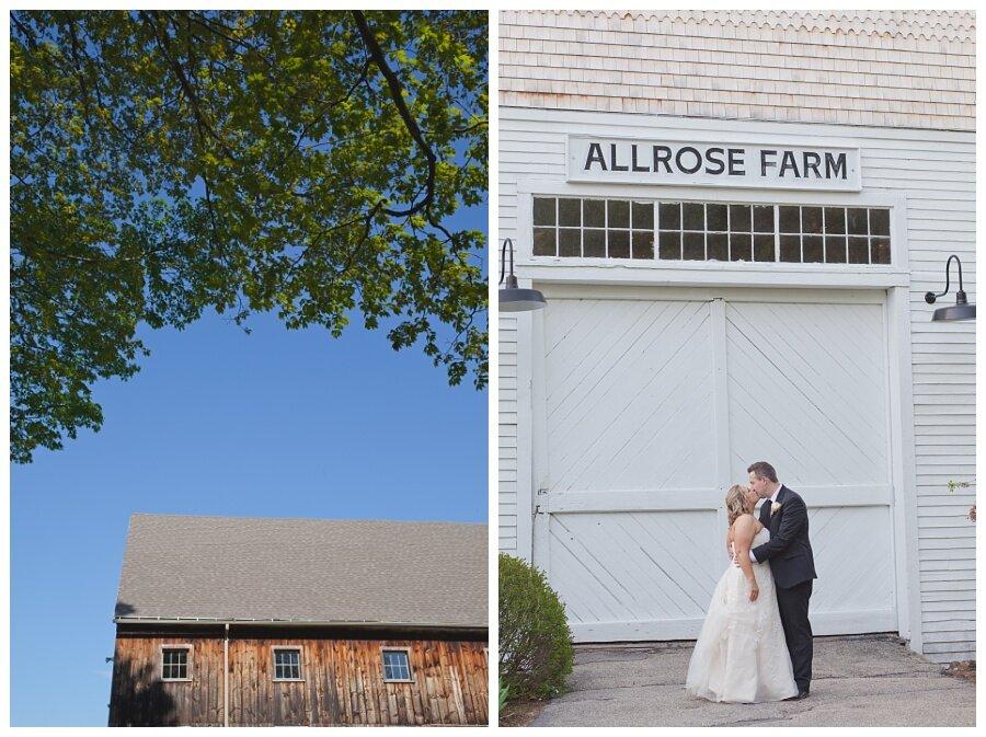 rustic barn wedding photos new hampshire