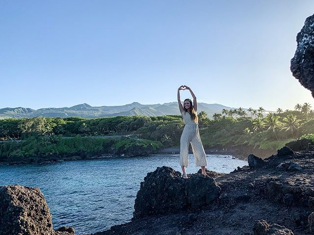 Exploring lava tubes, blowholes, lava fields and swimming with turtles all day! Peanut butter and guava jelly sandwich for lunch with a view of Haleakala! Such a cool spot! . . . . #takemoreadventures #adventureanywhere #adventurevisuals #wildme #adventuretime #adventureawaits #travelblog #travelblogger #hawaii #instatravel #awaywego #dreambig #jetsetter #traveldiary #travelmore #justgo #maui #happyplace #seetheworld #adventure #travel #gypsylife #wanderlust #ontheroad #onmyway #getupandgo #herethereeverywhere #catchmeifyoucan #sheisnotlost #iamtb