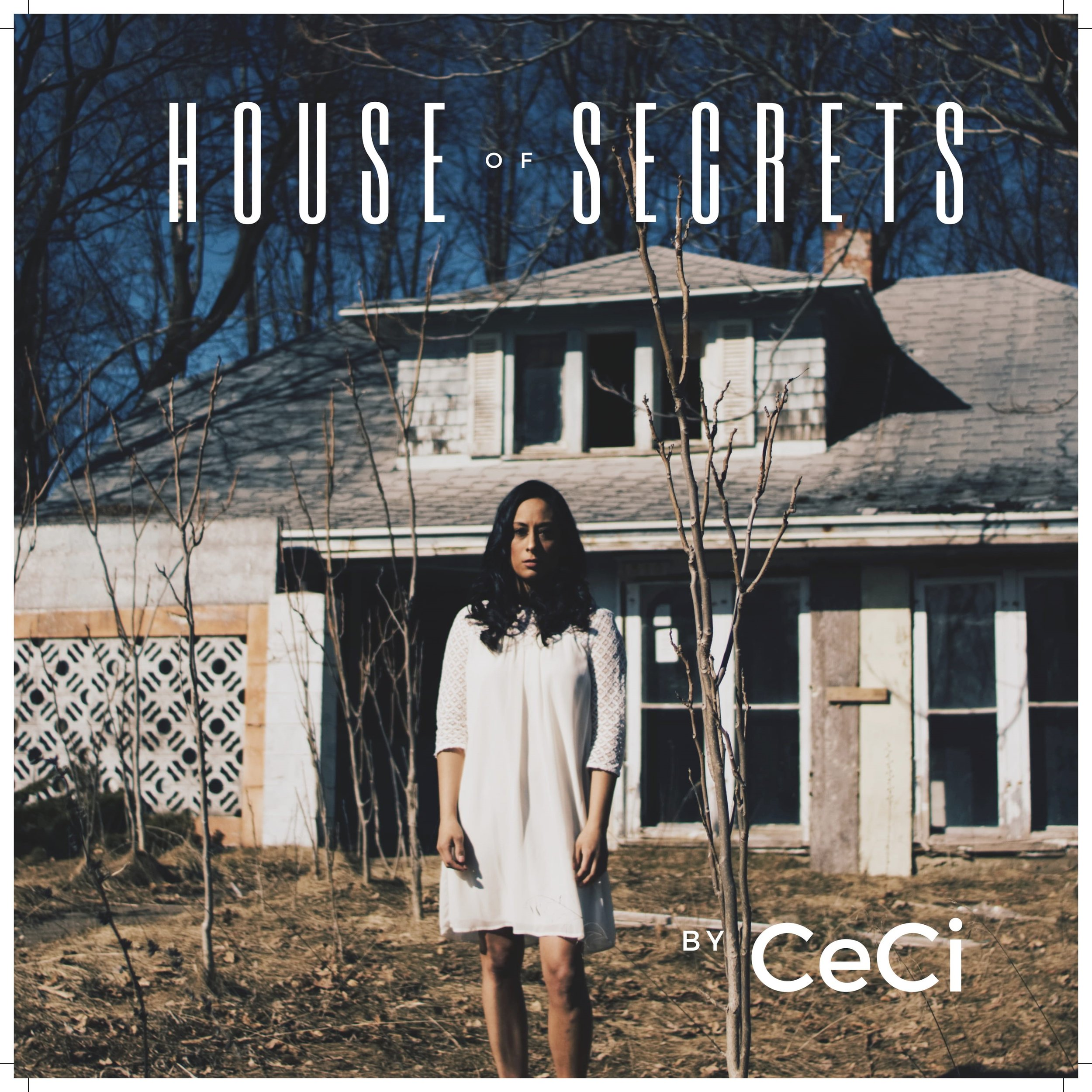 """Ceci's first single, """"House of Secrets,"""" is available on all media outlets."""
