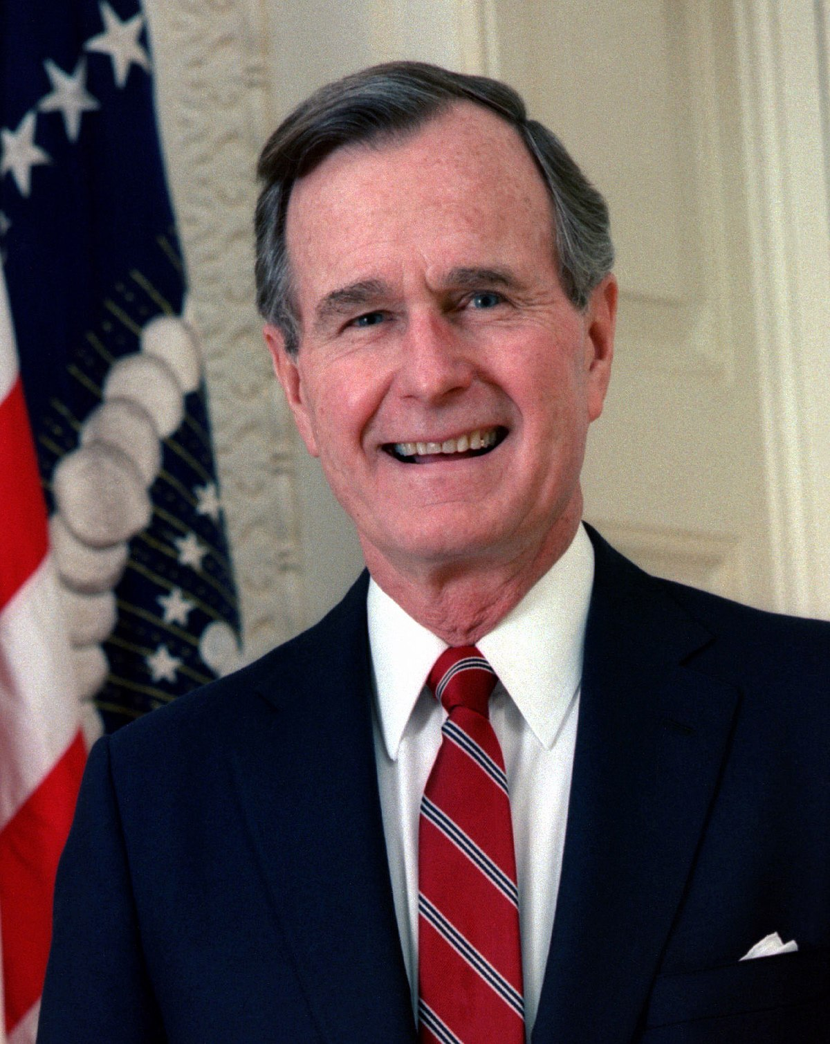 41st President of the United States, 1989–93 43rd Vice President of the United States, 1981–89