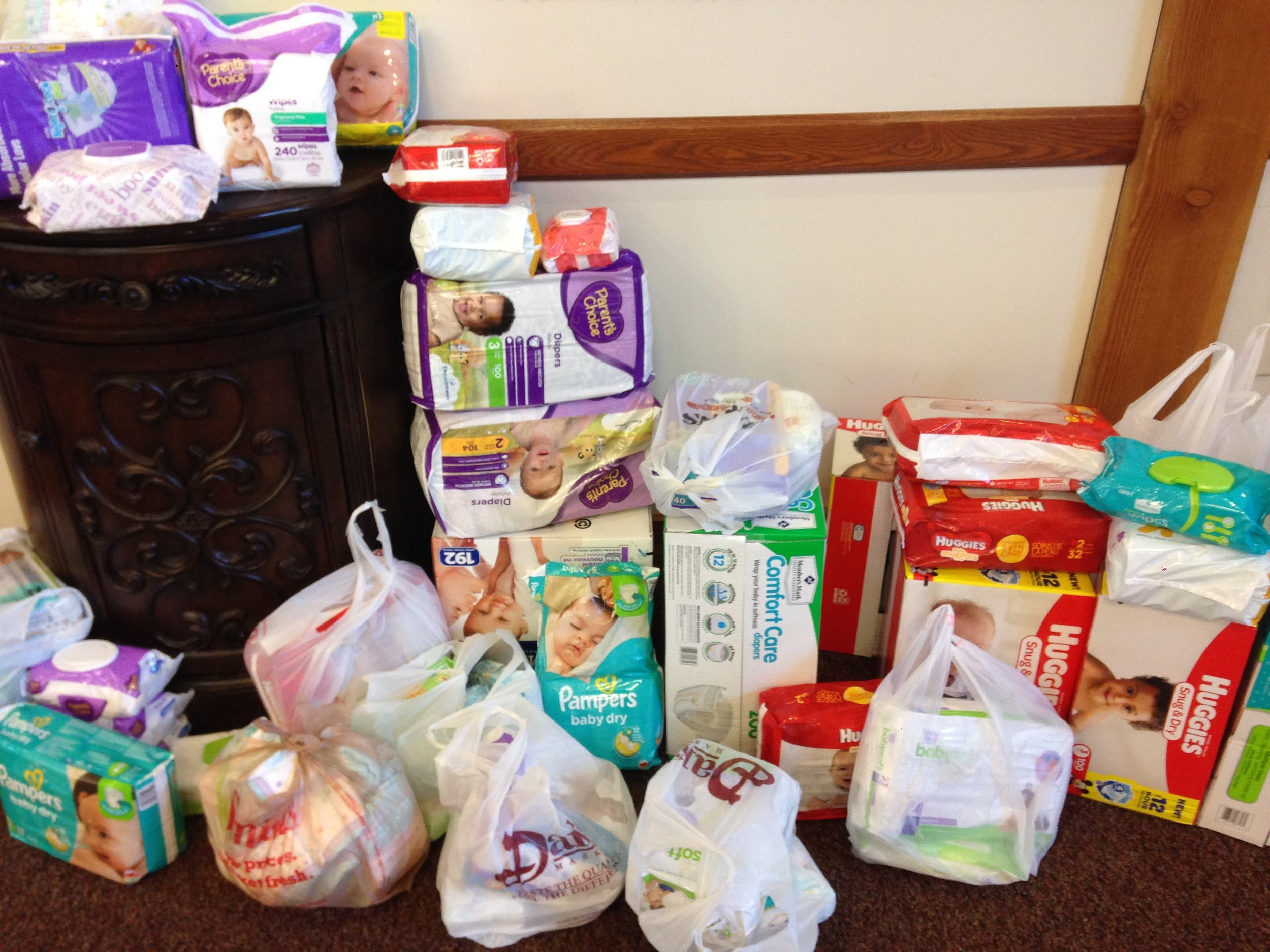 Donations were gathered at our 2017 BYGA luncheon for the Crisis Nursery in Midvale.