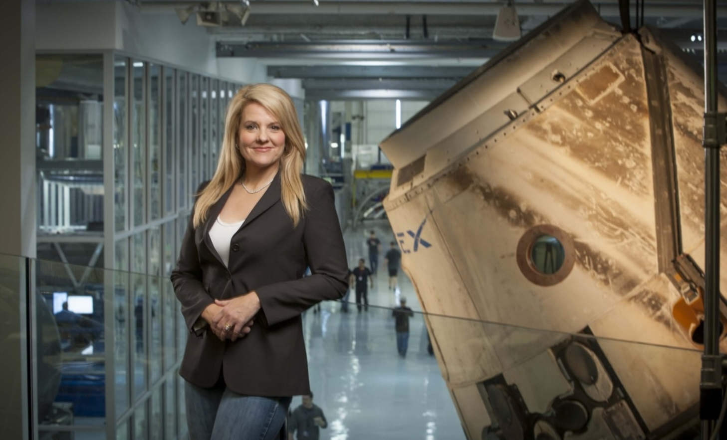 Gwynne Shotwell  - Space Exploration  Shotwell is President and COO at SpaceX (Space Exploration Technologies Corporation)