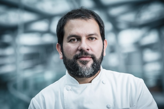 Enrique Olvera  - Food  Olvera, Chef of Pujol (Mexico City), ranked 25th among the World's 50 Best Restaurants, and was listed as the 5th best restaurant in Latin America.