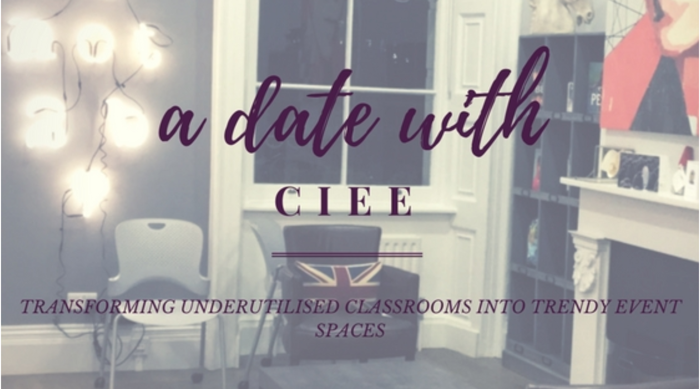 Transforming classrooms into event spaces   Find out how VenueScanner worked with CIEE to market their classrooms as event spaces!