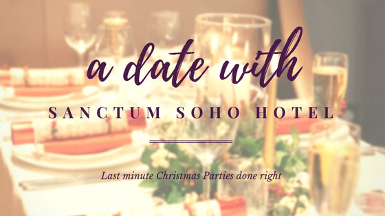 A Date with Sanctum Soho     Sometimes Hotels can be a little dull...not Sanctum Soho! Find out how they smashed the christmas party season last year!