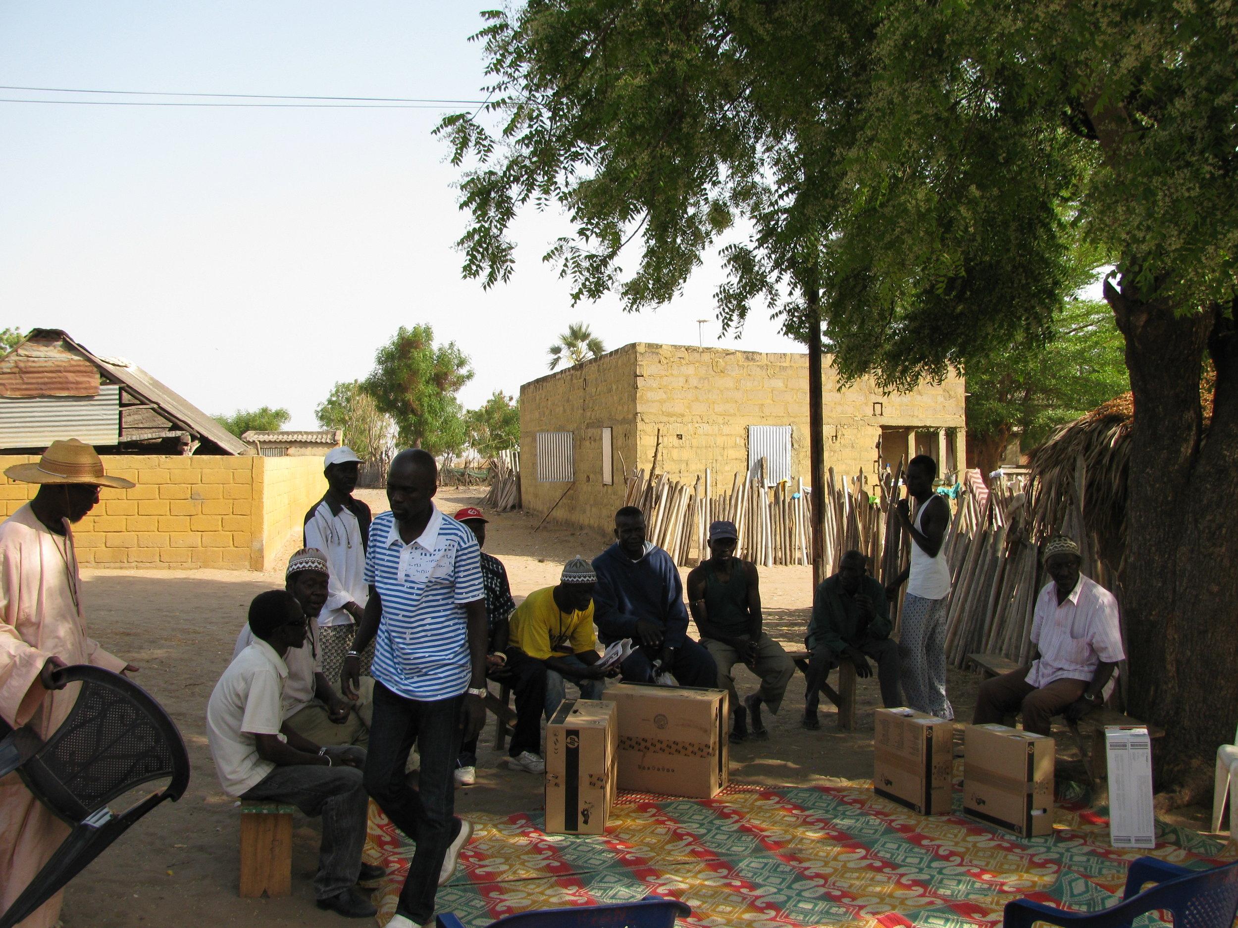 Computer gifts to village-Africa--2009-Dijiloor, Dijidiack, Senegal, West Africa 143.jpg