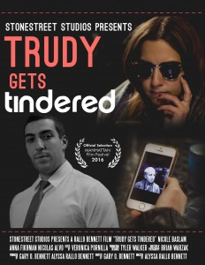 Trudy Gets Tindered - Trudy goes on a Tinder date expecting what she 'swiped for' but everyone gets their heads and hearts turned at least once.WATCH TRAILER    -    IMDb