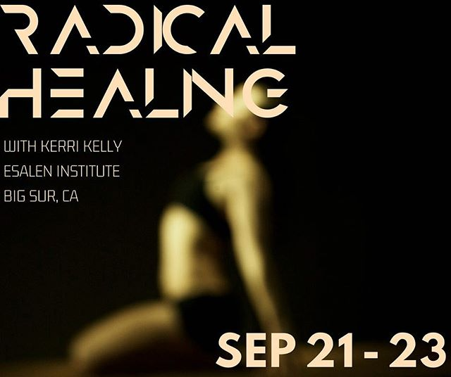 Getting so excited for this retreat. We are heading to Esalen to explore radical healing and the practice of truth and reconciliation for personal and collective liberation. It's going to be a powerful reset of the body mind and soul. Only a few spots left, so let me know if you're interested!
