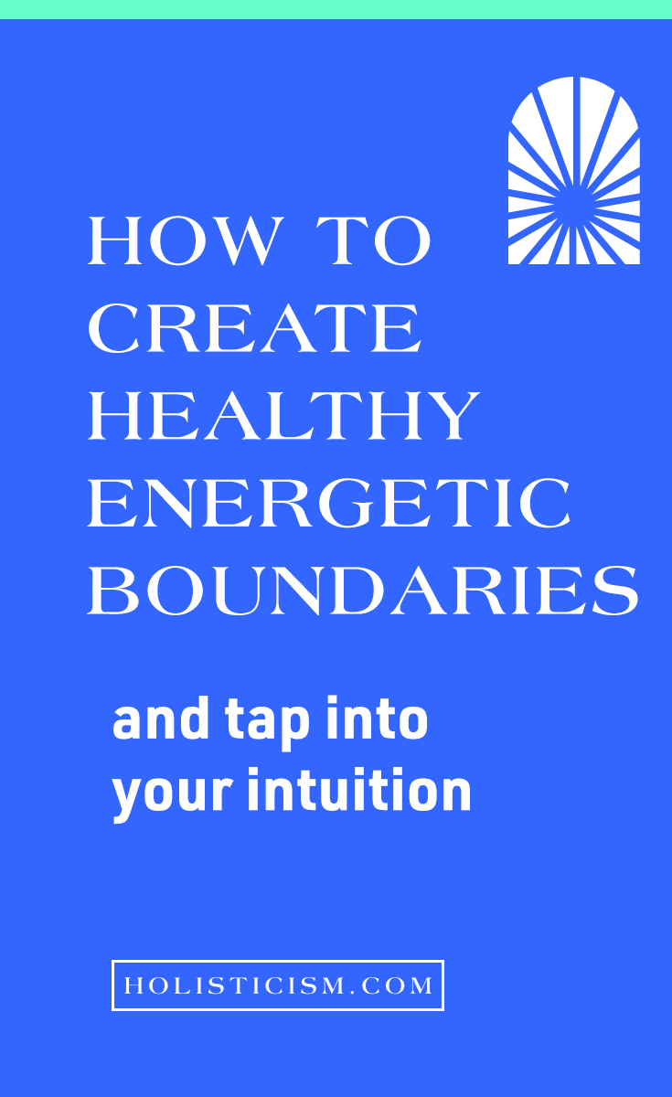 Healthy Energetic Boundaries workshop