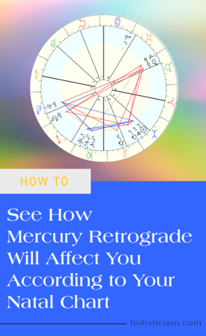 3 Surprising Places to Look In Your Natal Chart To See How Mercury Retrograde Affects You