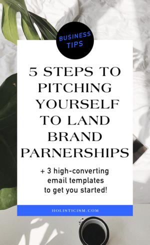 5 Steps To Pitching Yourself