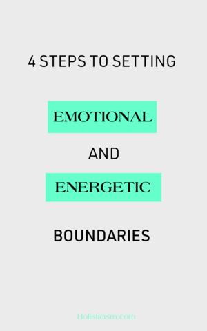 Energtic and Emotional Boundaries