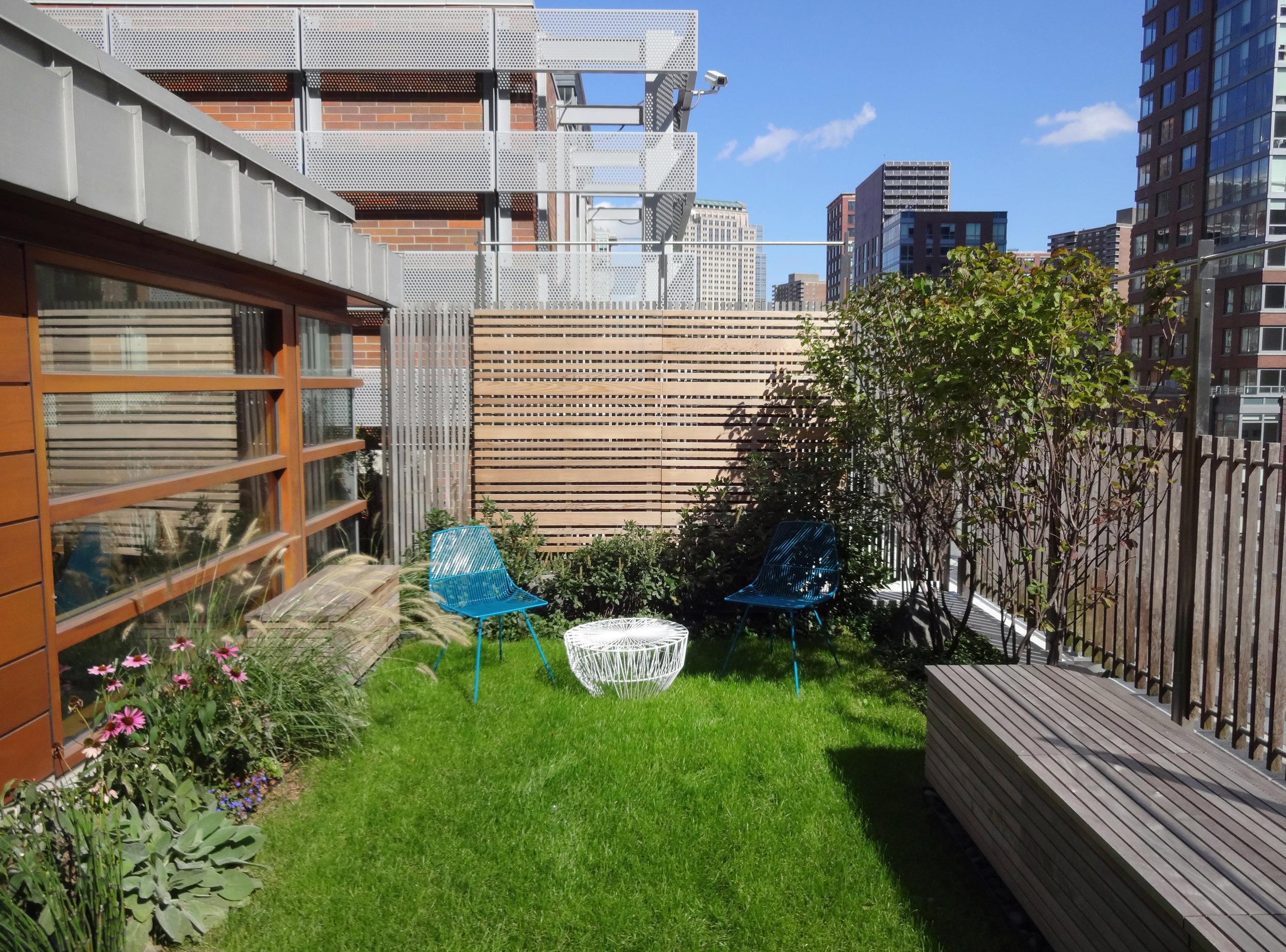 battery park city roof garden