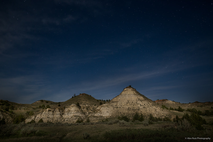 Stars Over Theodore Roosevelt National Park