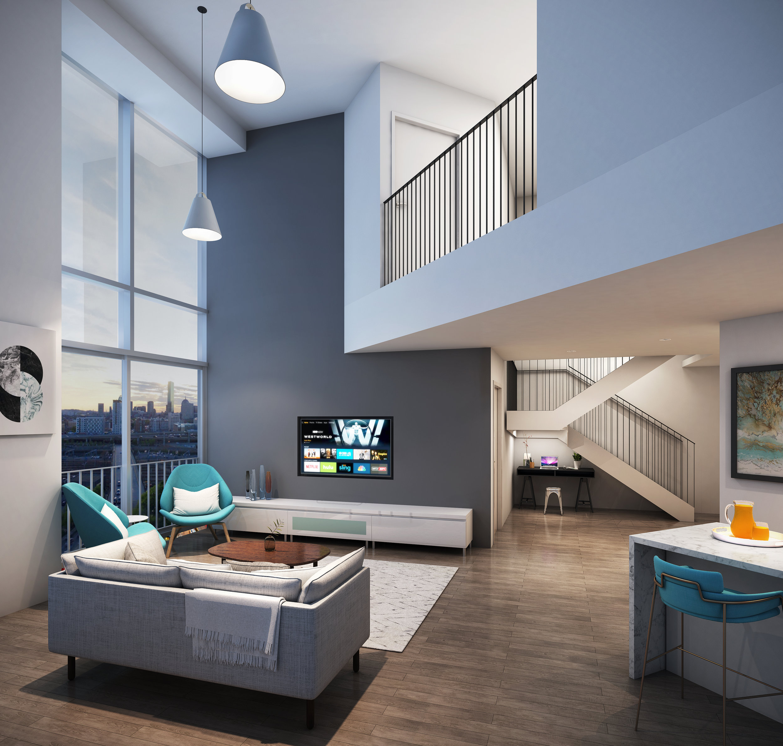 DUPLEX LIVING SPACE