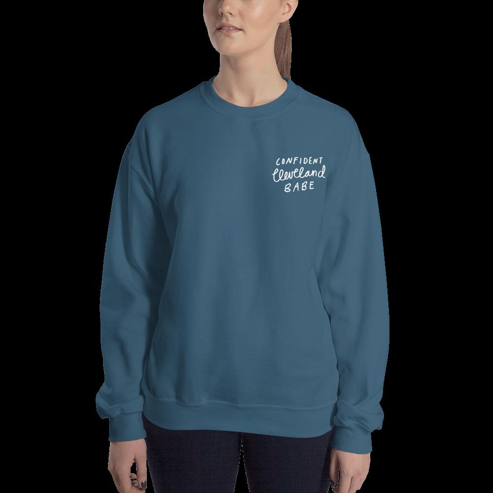CLE BABE crewneck sweater