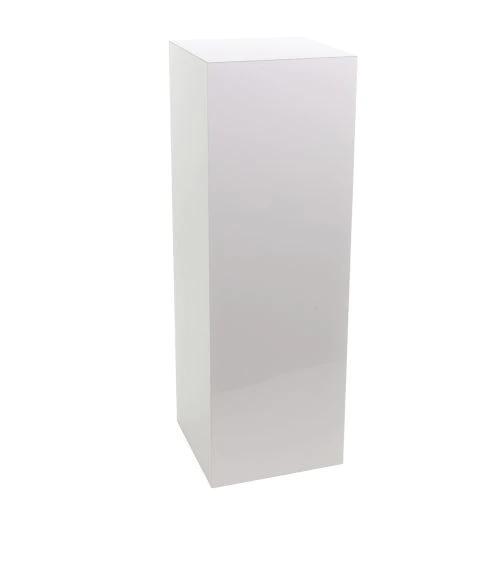 """White Pedestals - $75 each   39.5"""" H x 14"""" W  Qty: 2"""