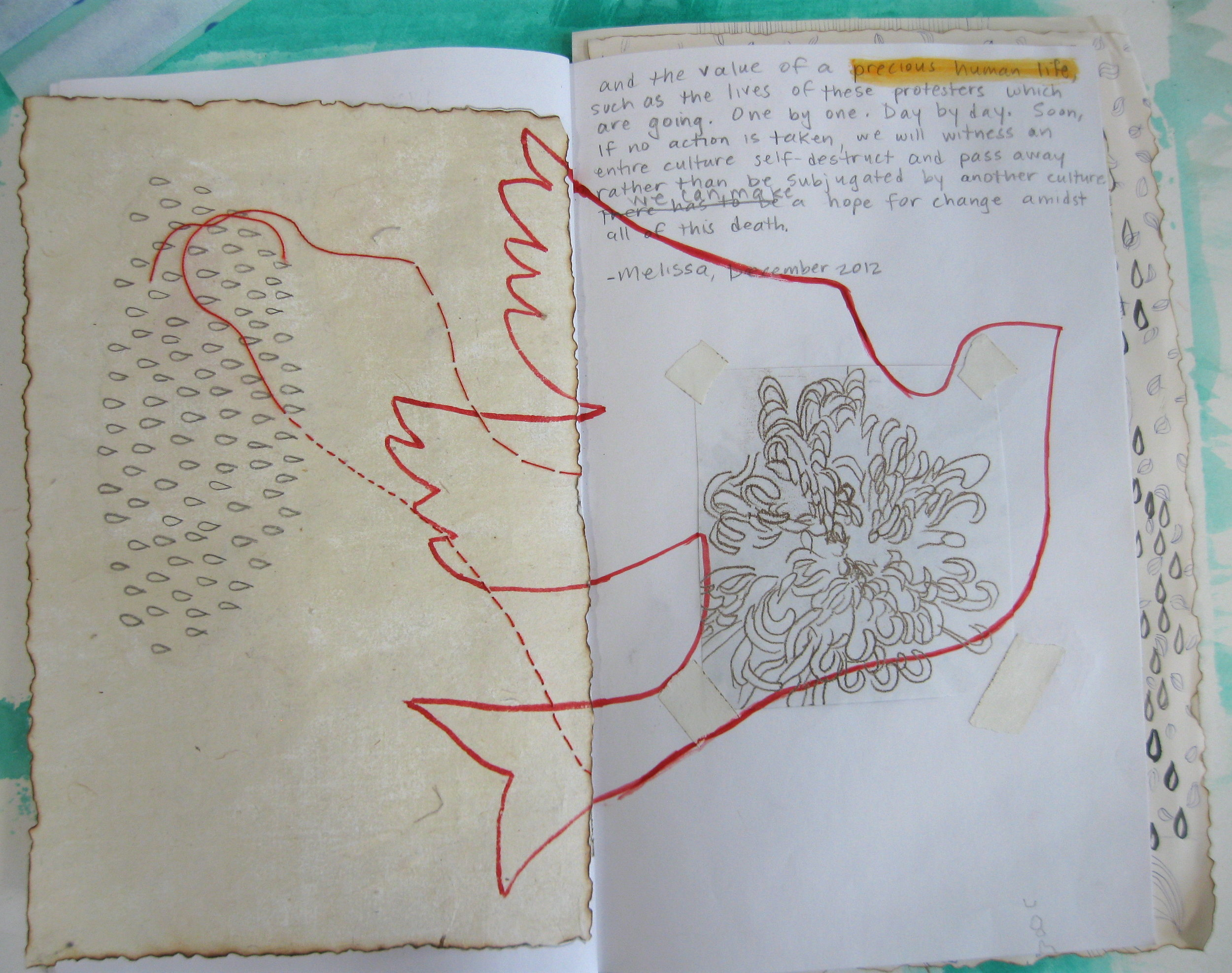 Artist Correspondence, Tibet is Burning