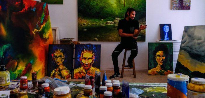 QUE PASA OAXACA - Spotlight on the Artist, Roque Reyes     Photo Credit: Nikhol Esterás