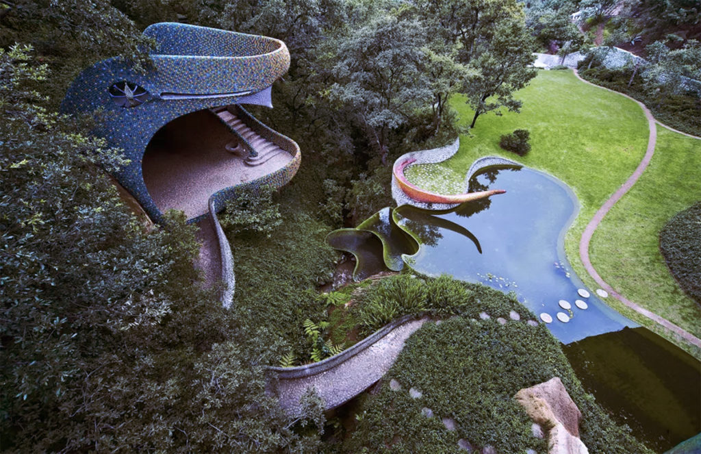 THE SPACES - Is this Mexican Snakehouse the Most Surreal Home on Airbnb?     Photo credit: Quezalcoatl's Nest