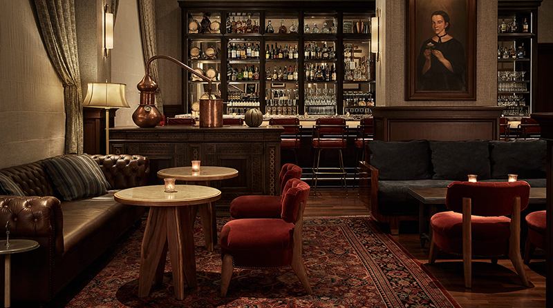 FORBES TRAVEL GUIDE - 5 Of Mexico City's Best Hotel Bars     Photo credit: Four Seasons Hotel Mexico
