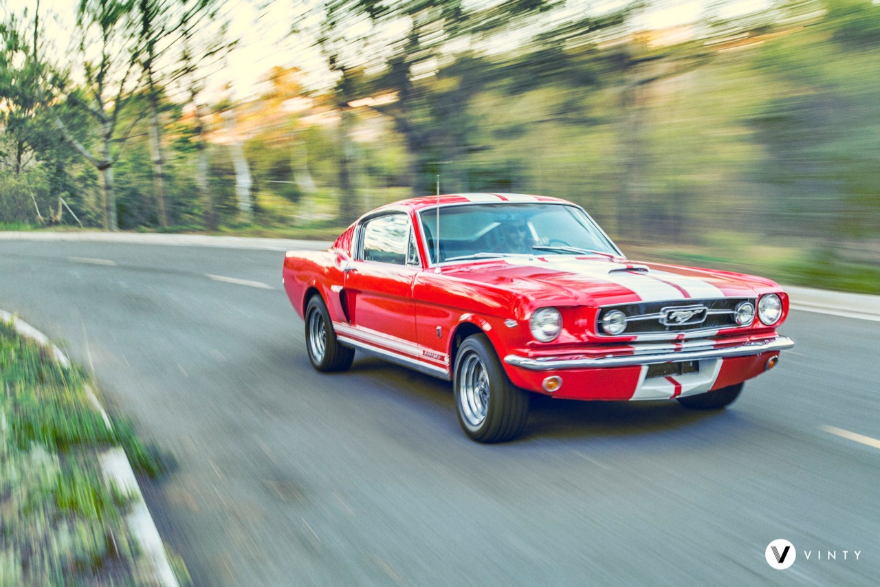 1965 Ford Mustang Fastback Red - 3.jpg