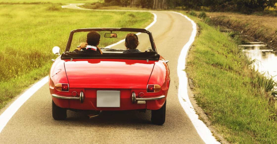 Renting a classic car