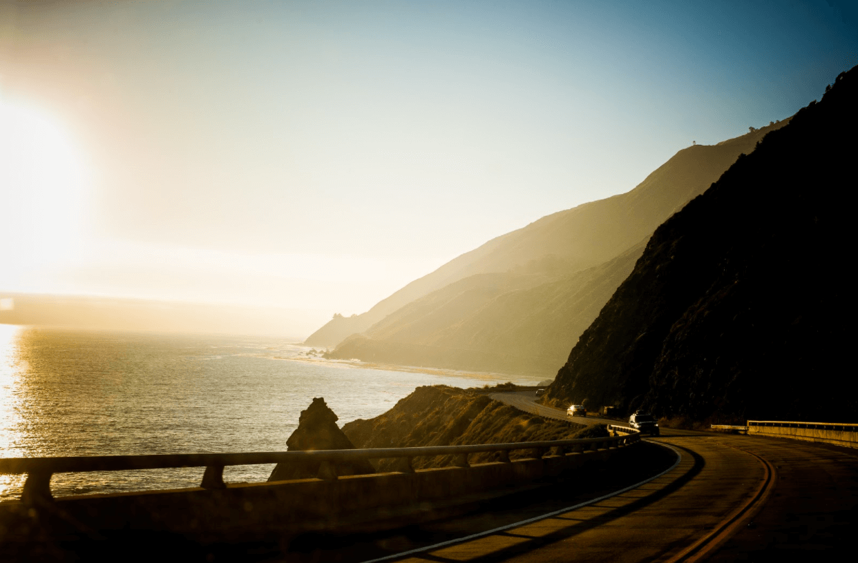 Best drives in California