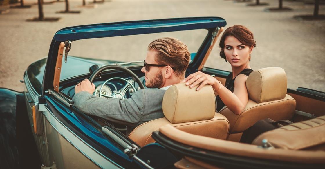 classic car photoshoot