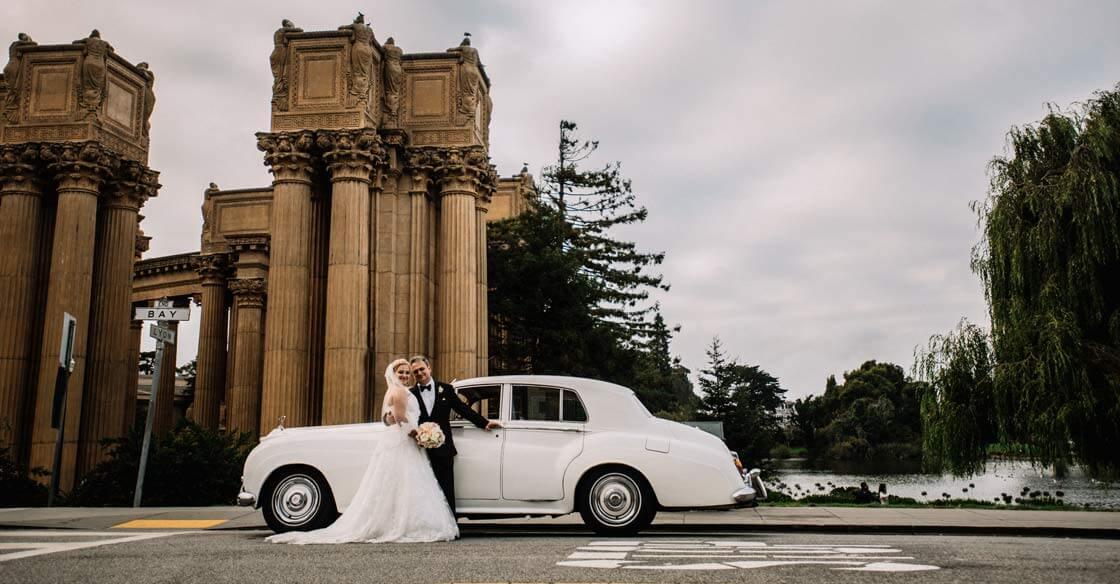 wedding classic car rental