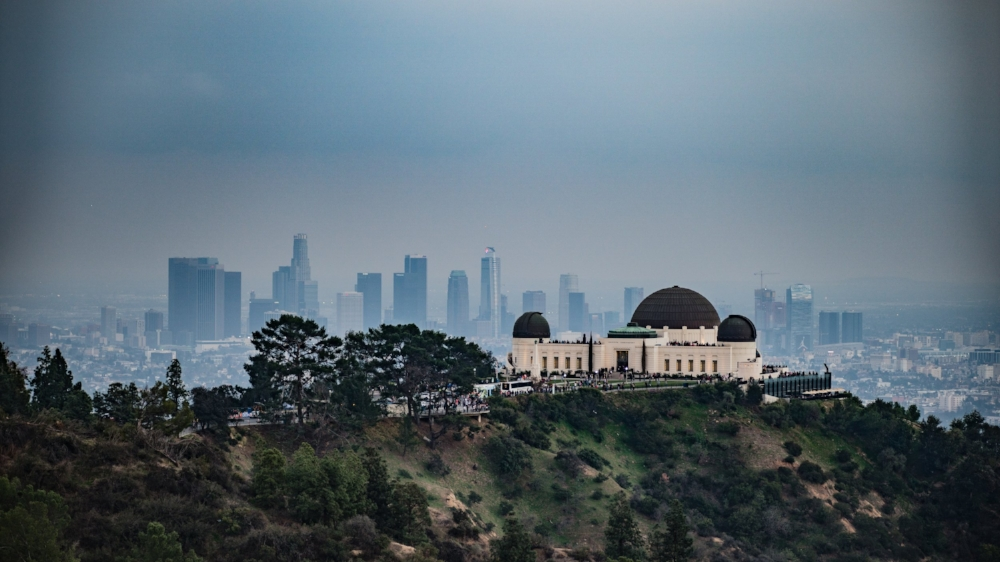 Like the Old Zoo, the  Griffith Observatory  provides some of the most impressive views of the city. Sunsets are magnificent from this viewpoint thanks to LA's imposing skyline and the infamous Hollywood Sign which easily visable just west of the Observatory. If you're a lover of both, rest assured that your first trip won't be the last. Then there's the Observatory building itself, a shot of it with a  classic car  as the centerpiece, offset by the steep, green hillside is all it takes to be a collector's item.