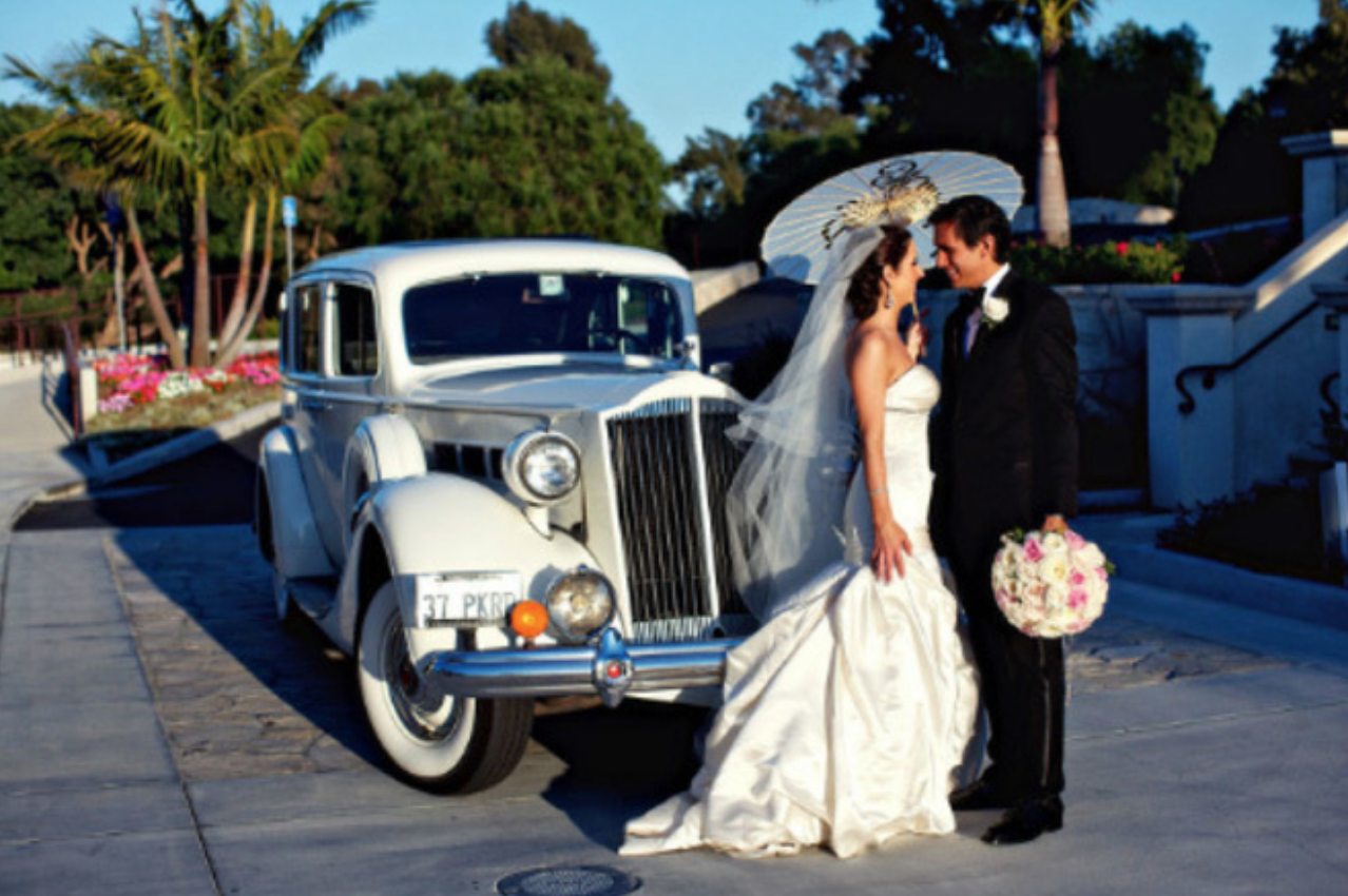 1937 Packard SR - Hire this stunning Packard in Orange County for your wedding or event. Price is based on a three-hour minimum.