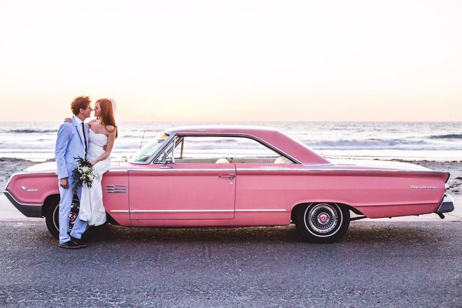 Classic Vintage Wedding Car Rental Transportation Vinty