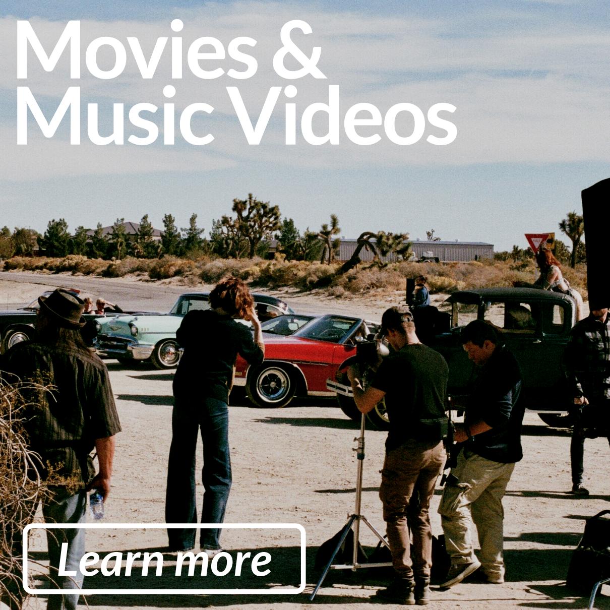 Movies & Music Videos