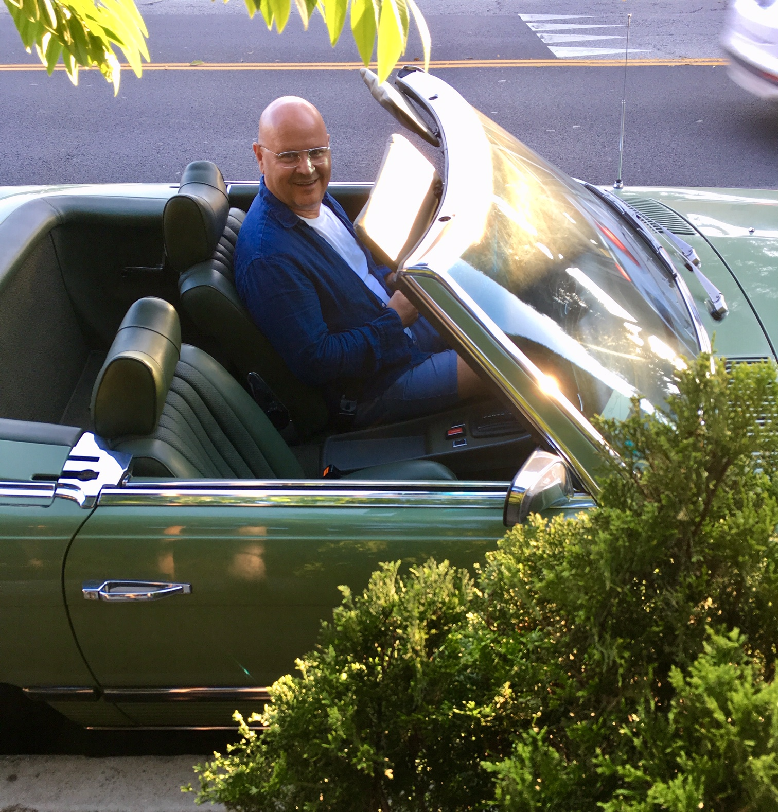 Andrew Mandolene - Learn about how this Palm Springs car collector is putting his fleet to work!