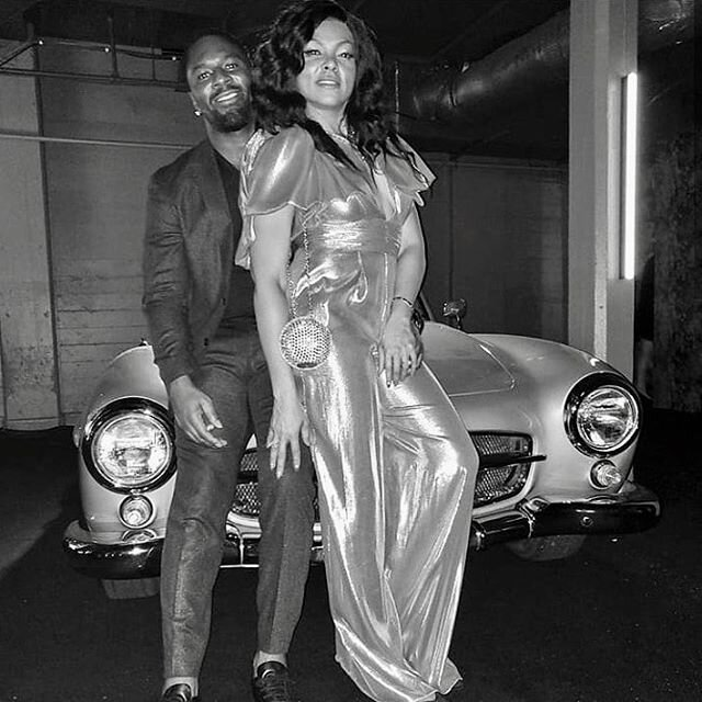 """The Hottest Oscar Party in Town"" - The Hollywood Reporter.⠀ Throwback to Jay-Z and Beyonce's Gold Party with @tarajiphenson & @chloexhalle. ⠀ 🚗: 1960 Mercedes 190 SL - https://buff.ly/2PUvbgT⠀ •⠀ •⠀ •⠀ #classiccars #classiccar #classiccarrental #classiccarrentals #carrental #carrentals #vintagecar #vintagecars #vinty #drivevinty #car #oscar #mercedes #190sl #goldparty #jayz #beyonce #chateaumarmont"
