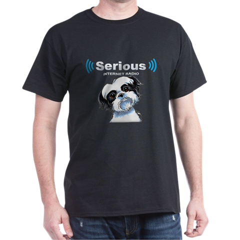 SERIOUS INTERNET RADIO SHIH TZU T-SHIRT
