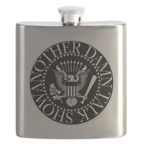 ANOTHER DAMN TALK SHOW FLASK