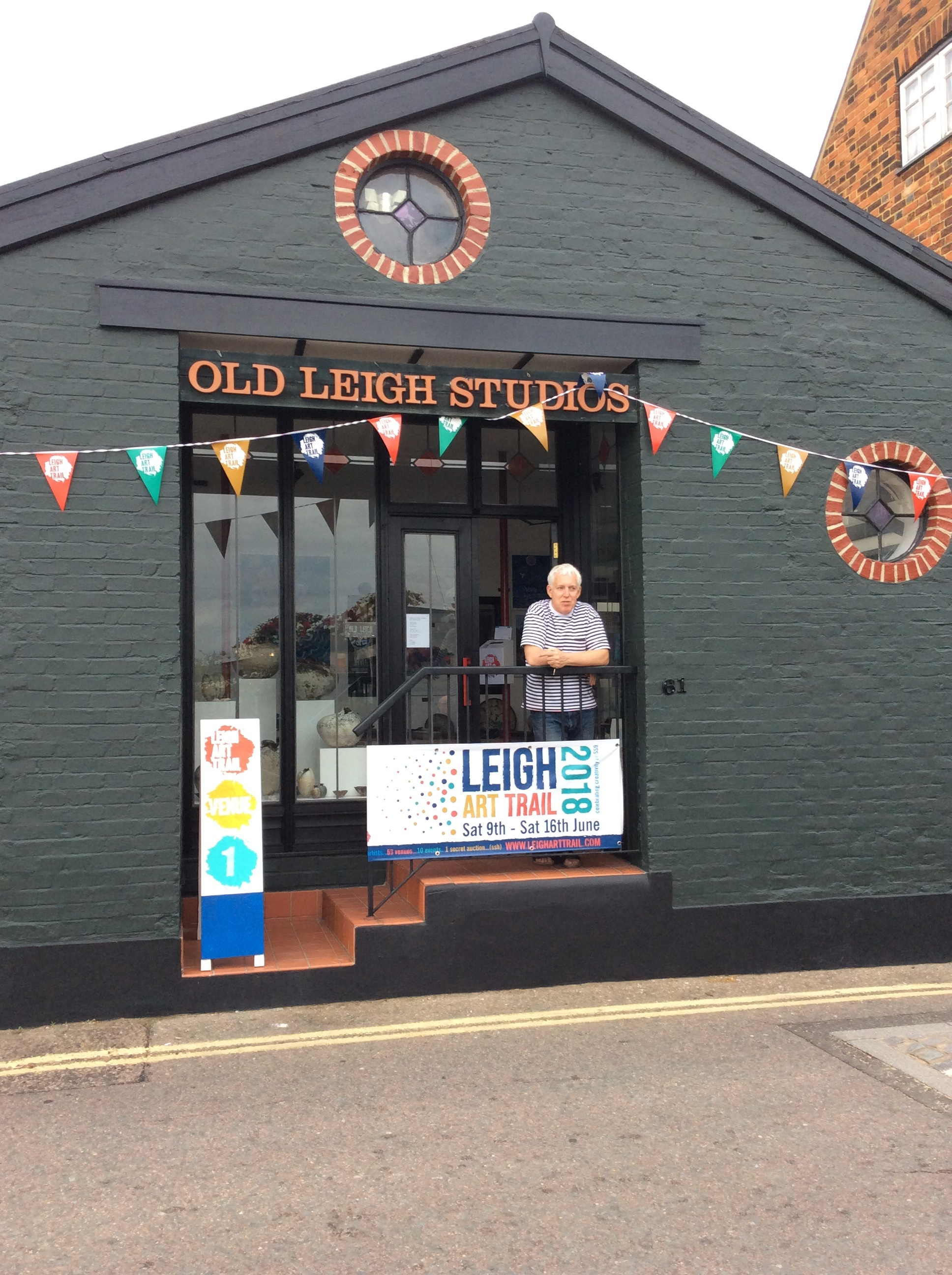 Old Leigh Studios - 61 High Street, Old Leigh, Essex SS9 2EP