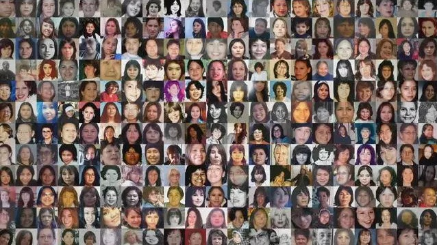 Missing & Murdered Indigenous Sisters Collage