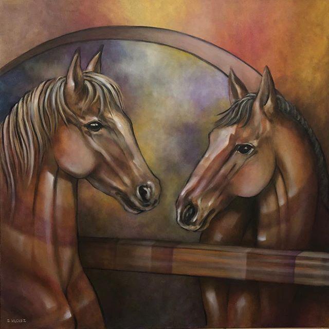 Horses at dusk!