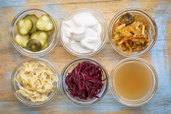 Eating fermented foods doesn't just improve gut health - it also improves mental health!