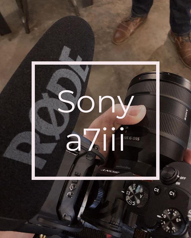 The Sony a7iii is a powerful camera in a small package. Currently using it as our main camera and liking the results!