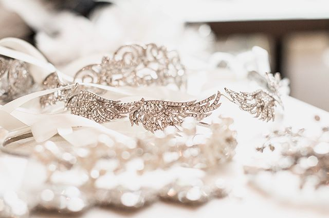 All of these sparkling accessories have us day dreaming!!! 😍😍😍😍#bellacouture #birmimghambride #bridalinspo #weddinginspo