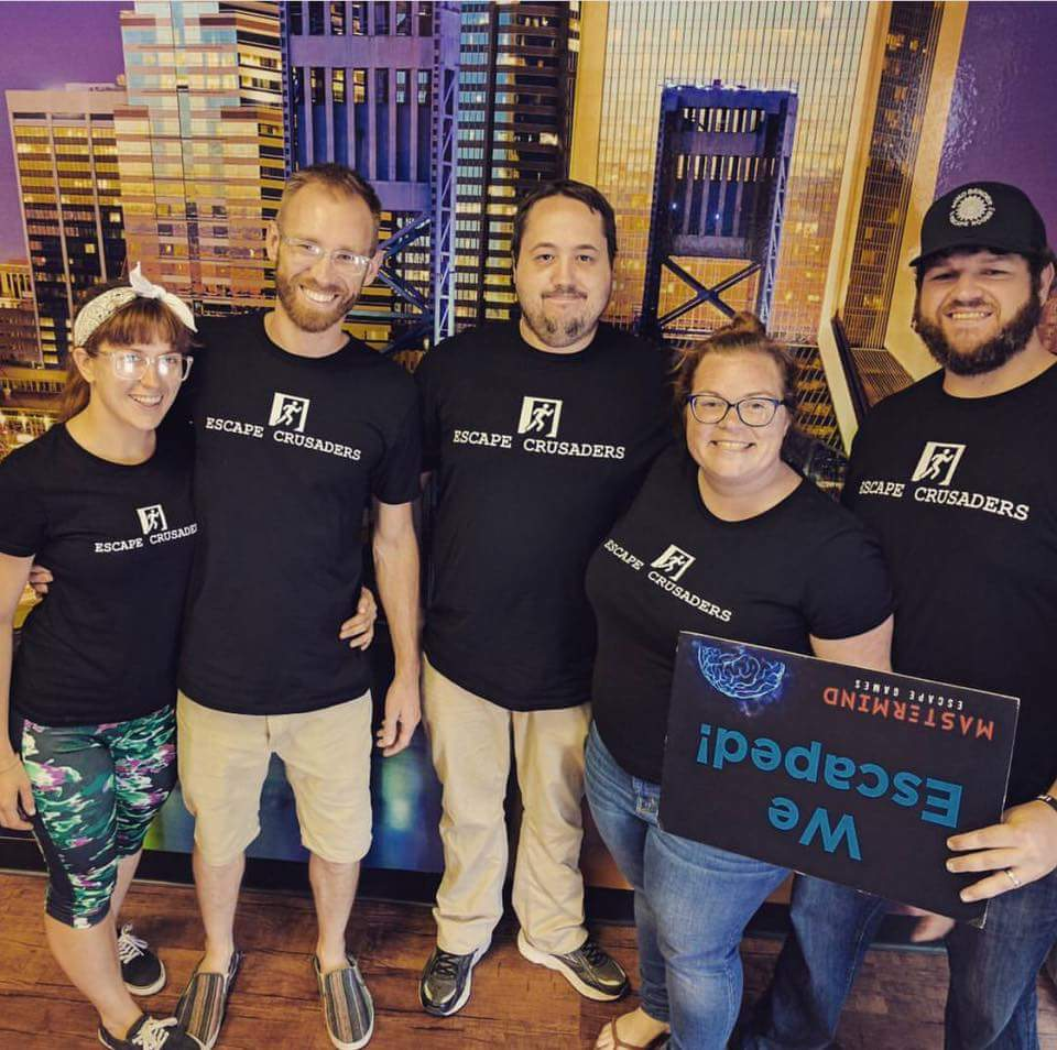 Escape Crusaders Escape Room Review Team
